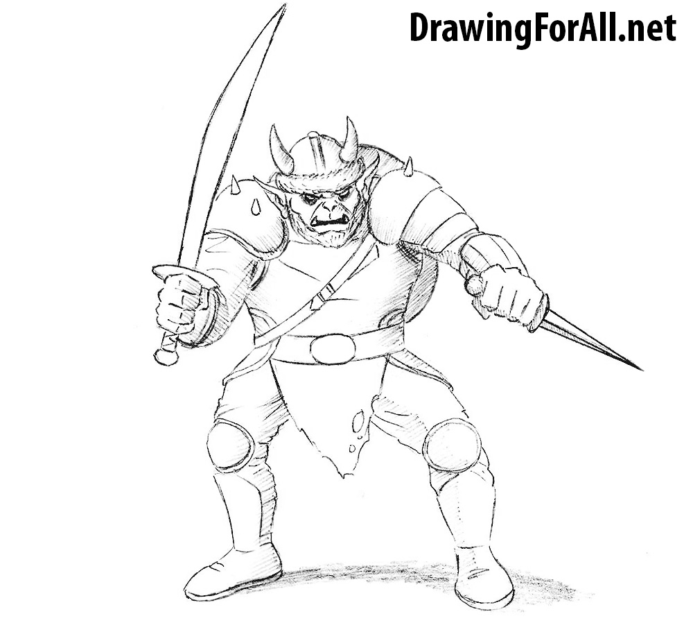 How To Draw A Hobgoblin