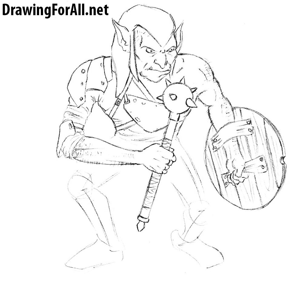 how to draw goblins