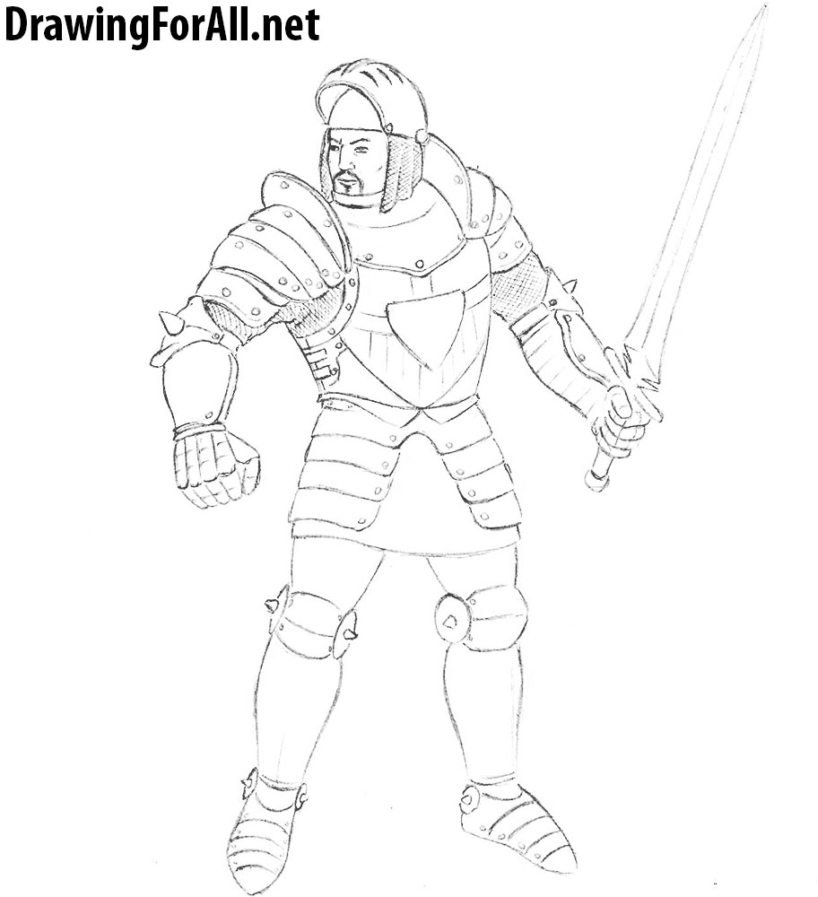 knight drawing