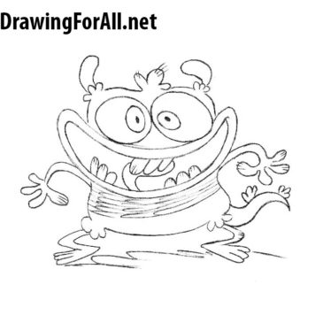 How to Draw Bunsen is a Beast