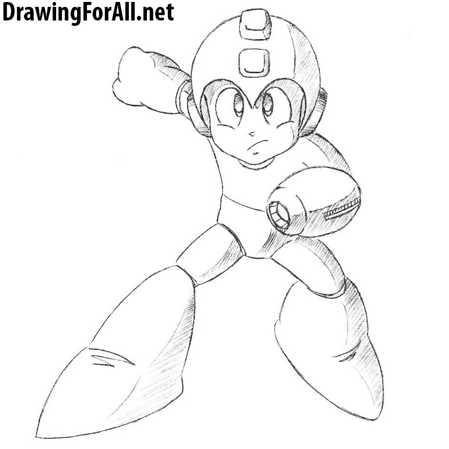 how to draw megaman drawingforall net