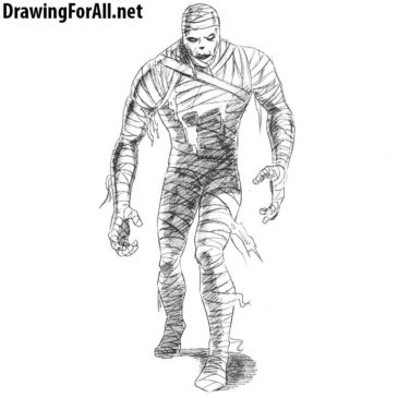How to Draw a Mummy