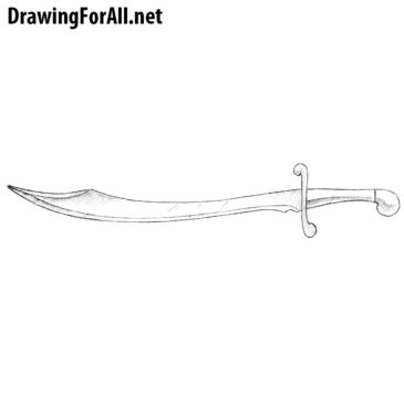 How to Draw a Scimitar