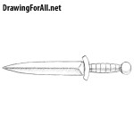 How to Draw a Dagger