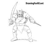 How to Draw a Hobgoblin from Fantasy