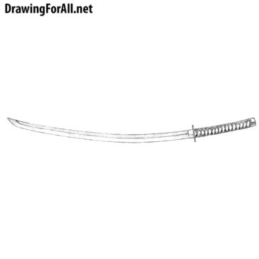 How to Draw a Katana