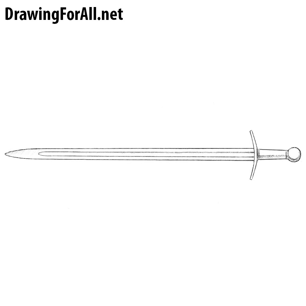 How to Draw a Long Sword