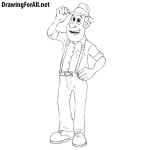 How to Draw Tadeo Jones