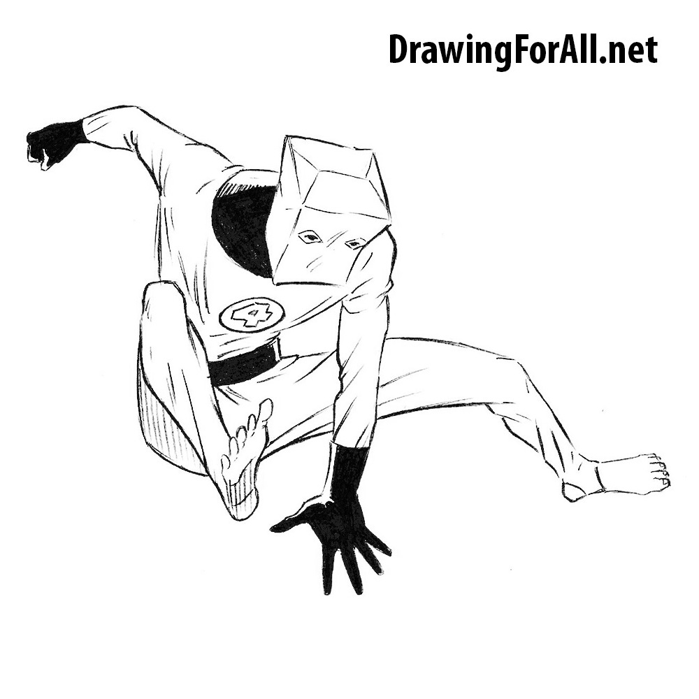 How to Draw The Amazing Bag-Man