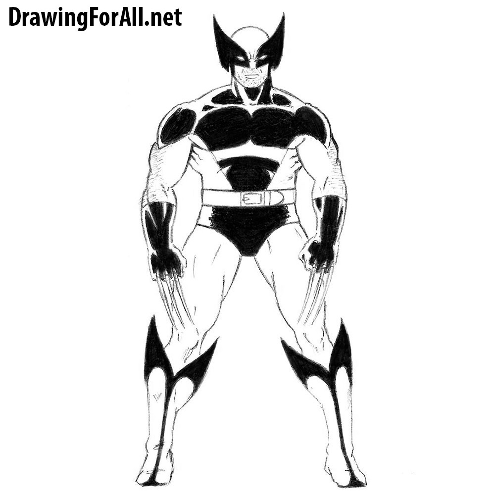 How to Draw Wolverine from X-Men