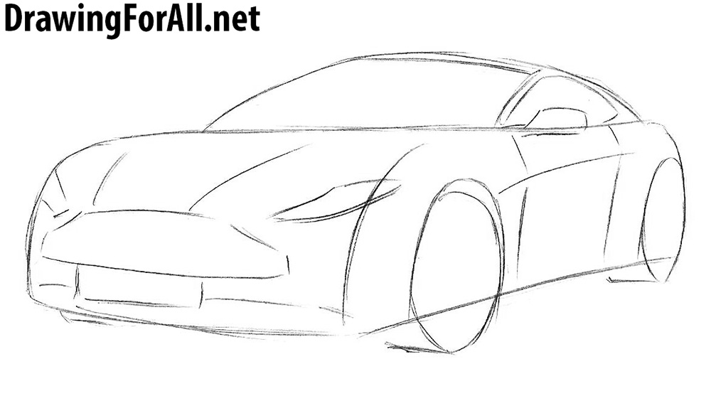 learn how to draw an aston martin