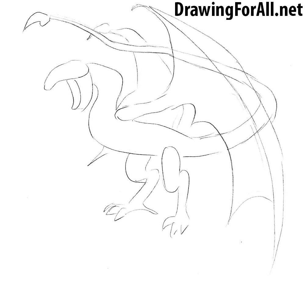 learn to draw a wyvern
