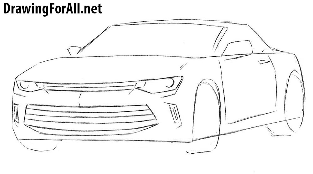 How to Draw a Chevrolet