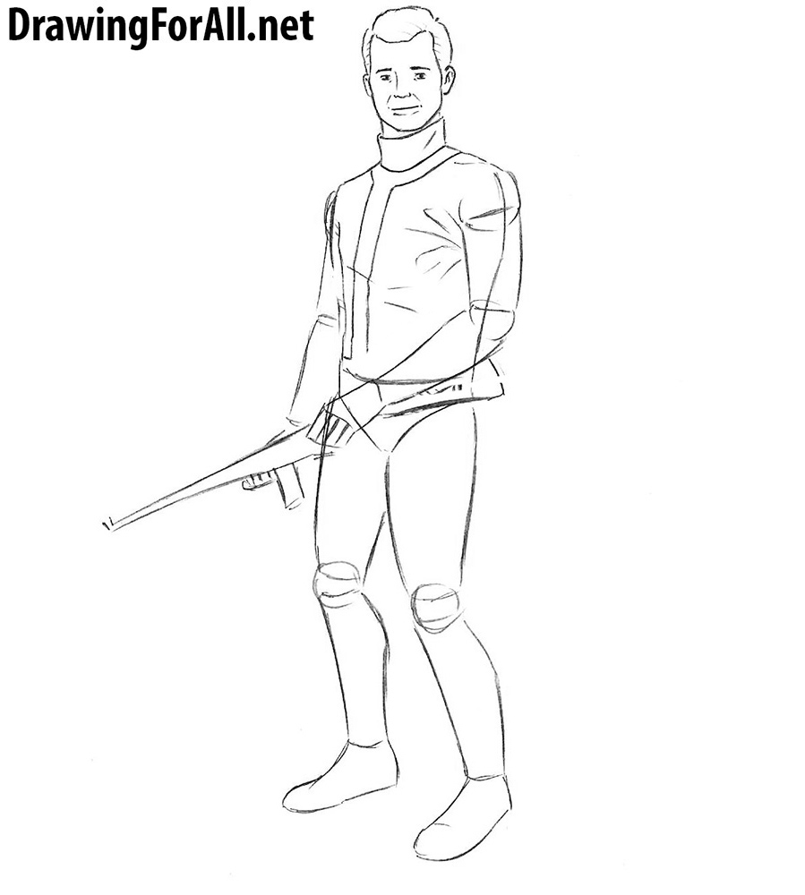 how to draw fallout