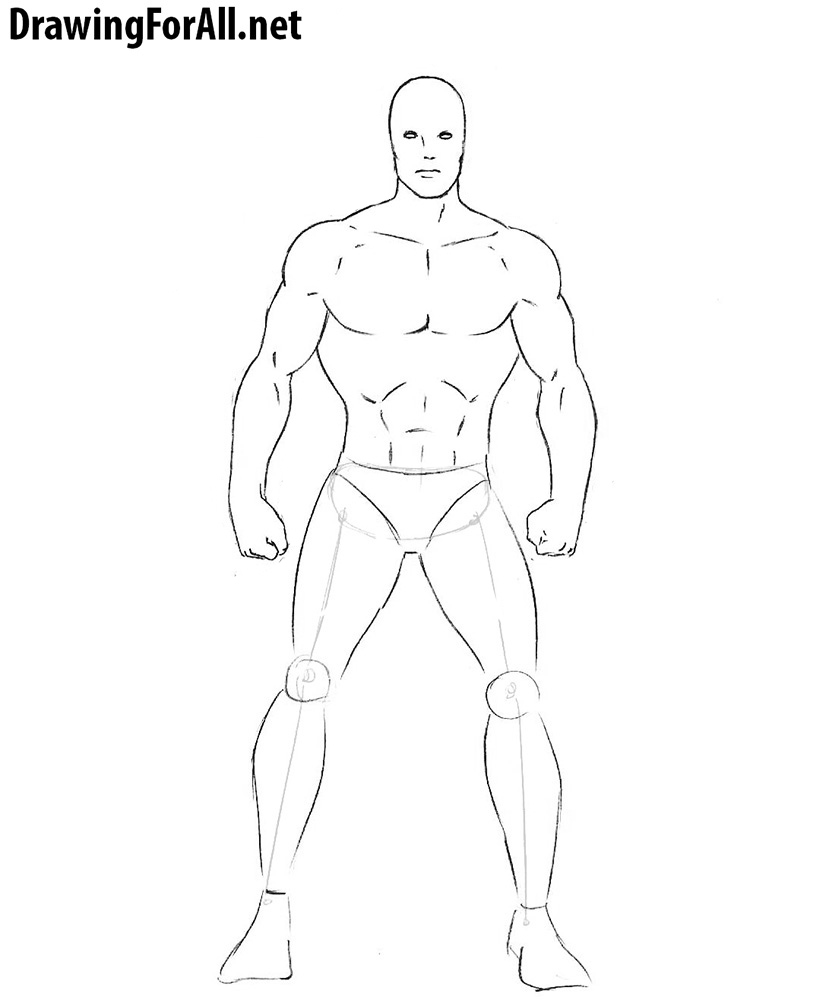 learn how to draw a superhero