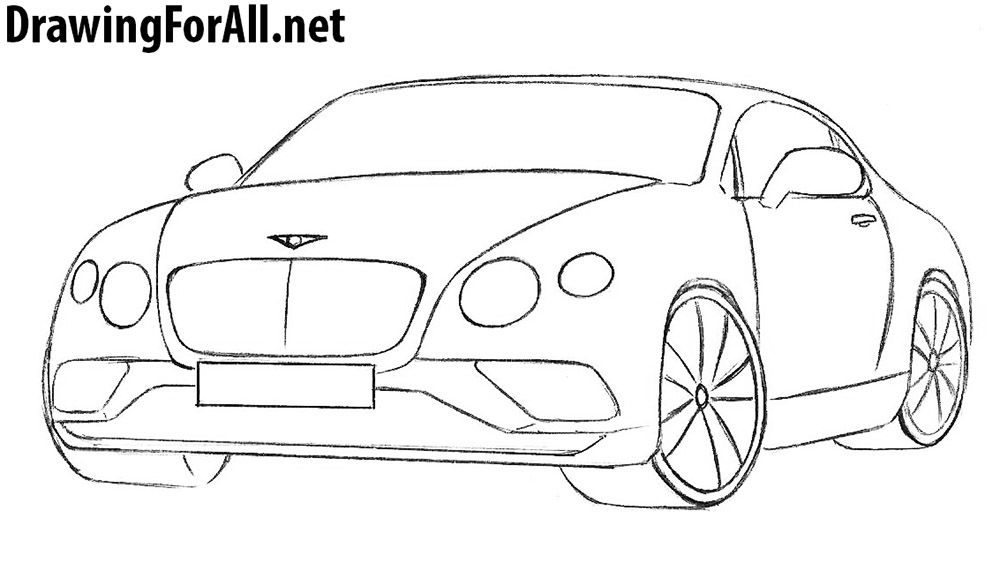 bentley drawing