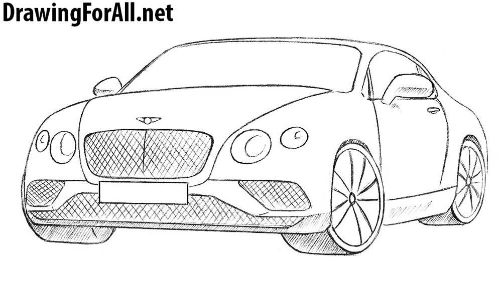 How To Draw A Bentley Drawingforall Net