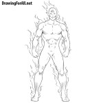 How to Draw the Human Torch