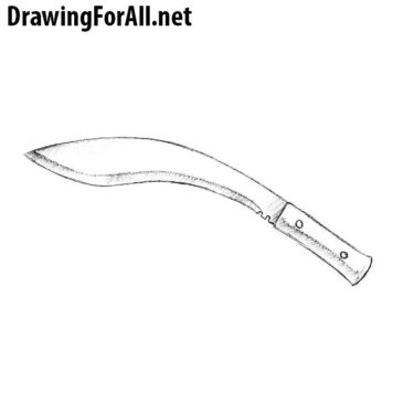 How to Draw a Kukri
