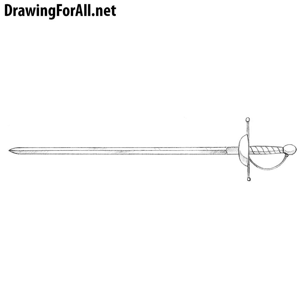 How to Draw a Rapier