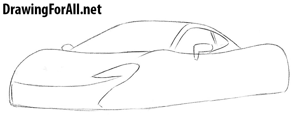 how to draw learn to draw a McLaren
