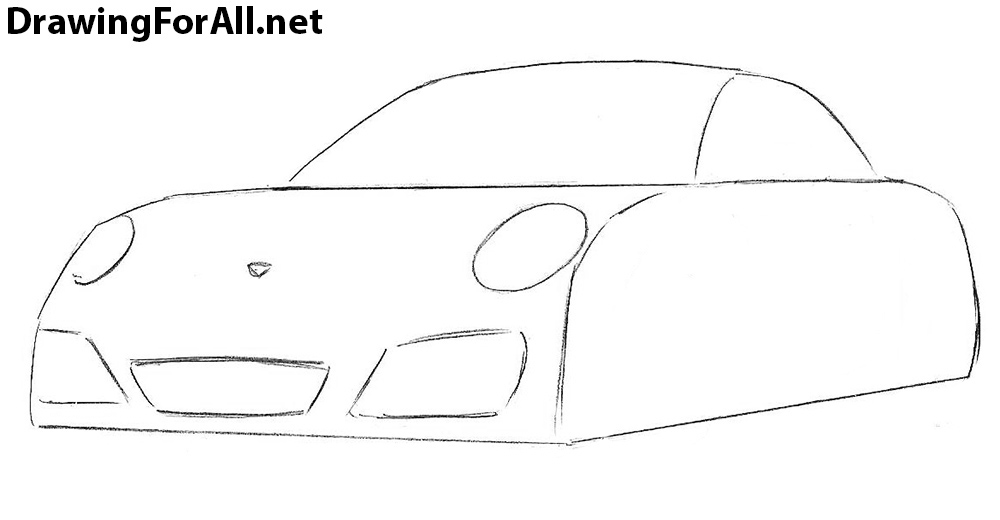 learn to Draw a Porsche 911