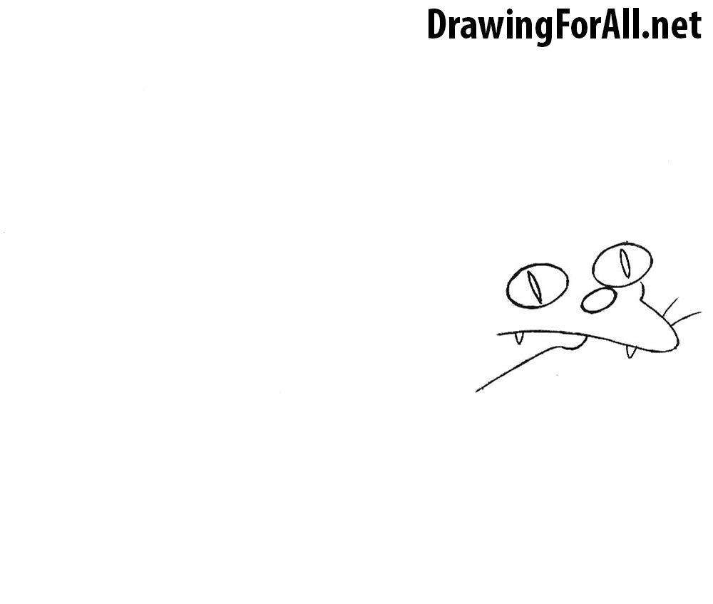 How to Draw a cat from the Simpsons