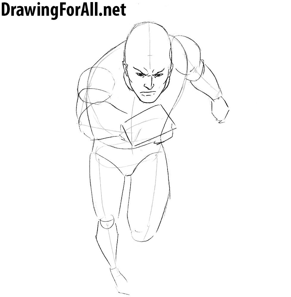 draw Quicksilver  step by step