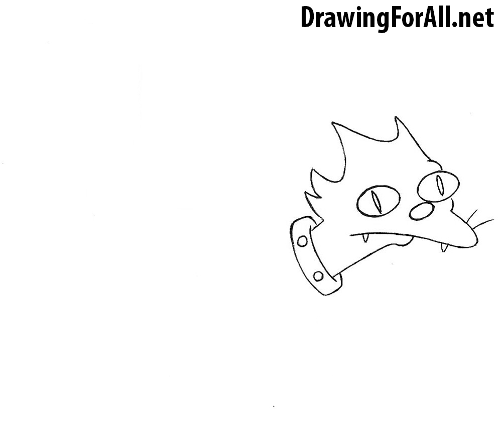How to Draw Snowball  cat