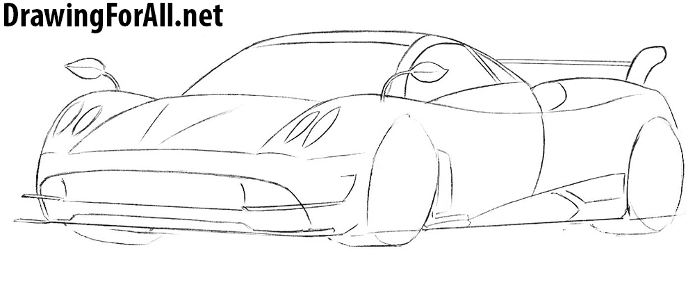 learn to draw a sportcar