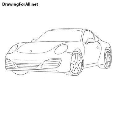 How to Draw a Porsche 911
