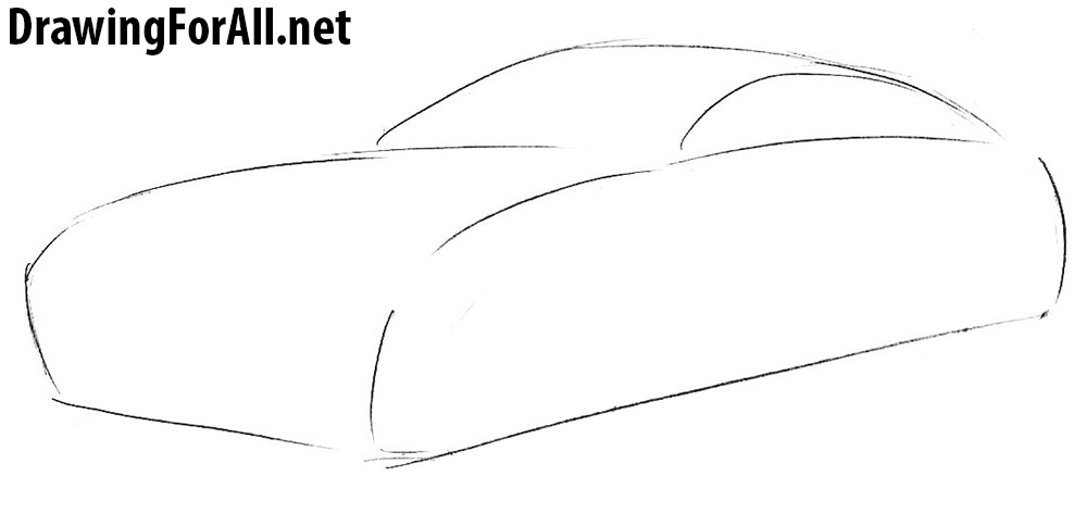 How to Draw a Jaguar Car