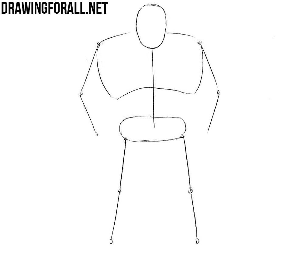 how to draw Juggernaut
