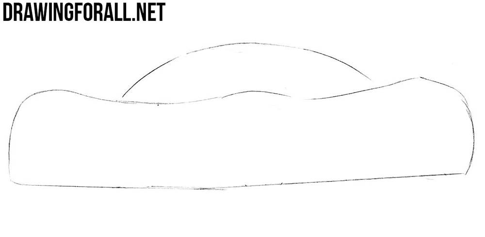 how to draw a hennessey venom