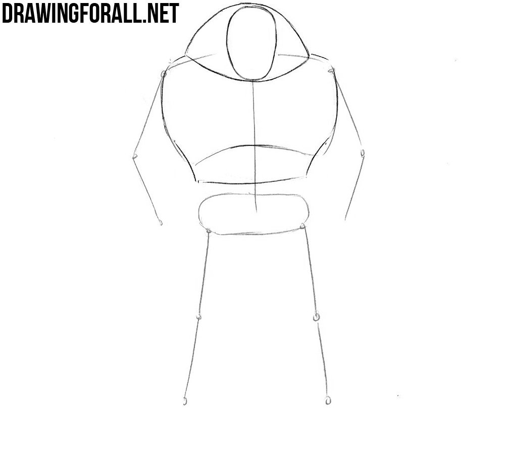 learn how to draw Juggernaut