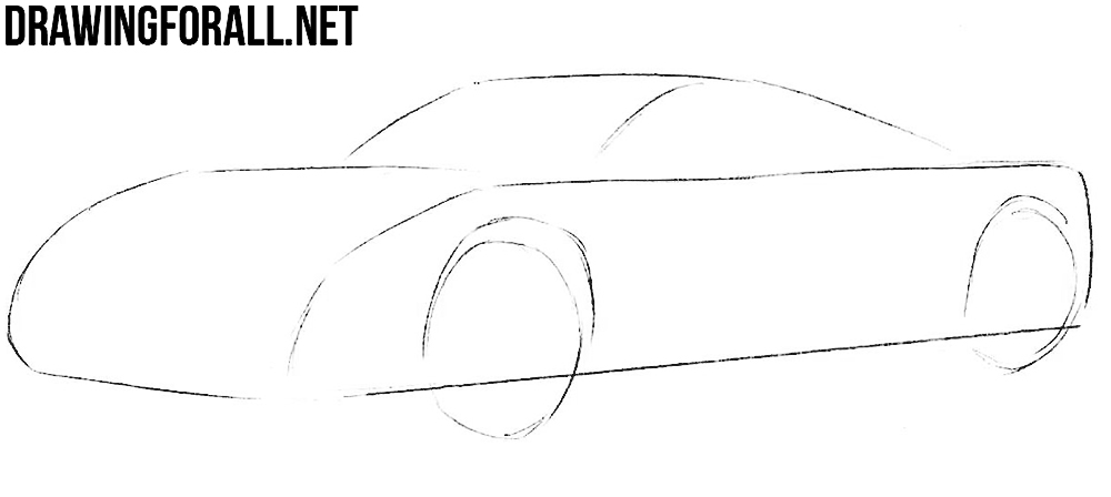 learn how to draw a spyker c12
