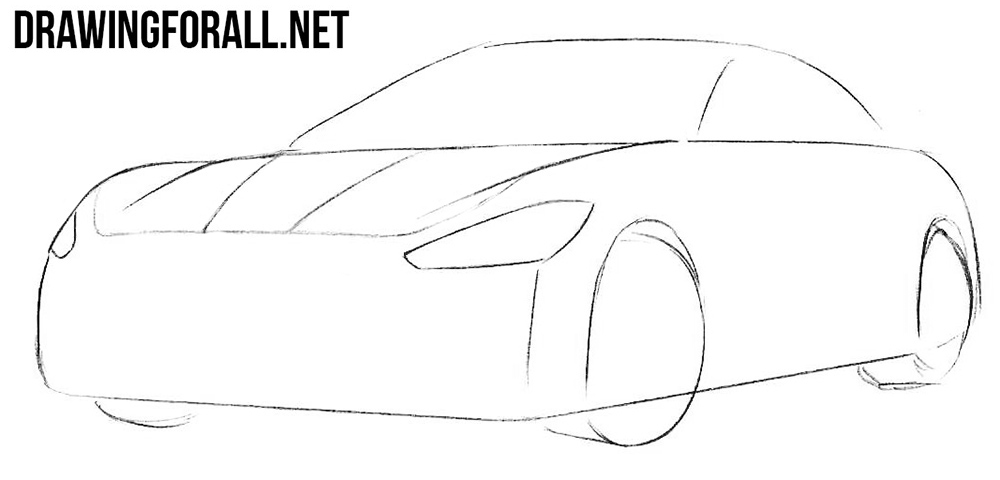 learn to draw a maserati