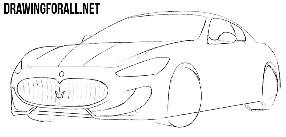 Learn how to draw a car step by step