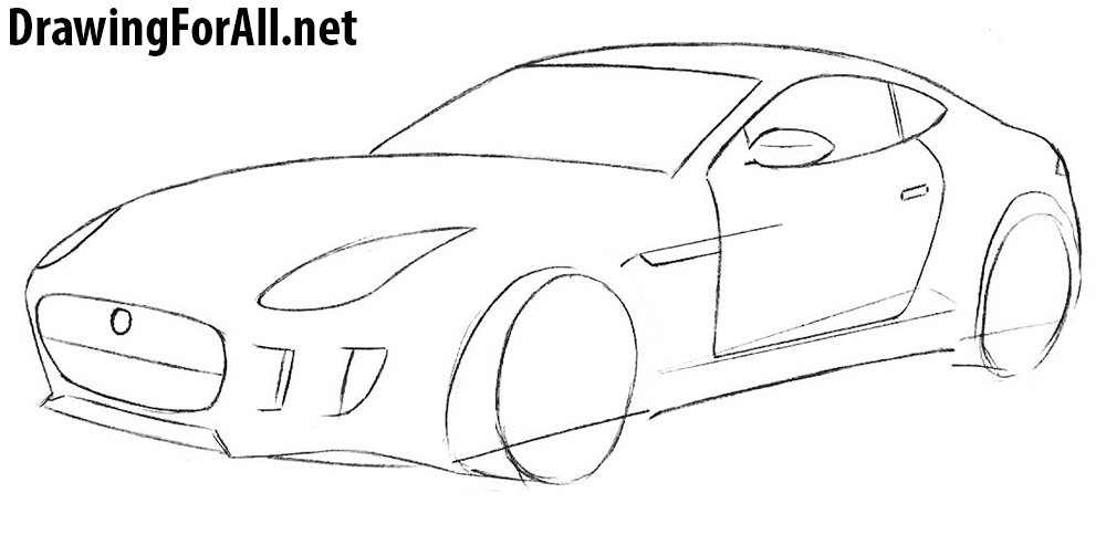 learn to draw a sport car