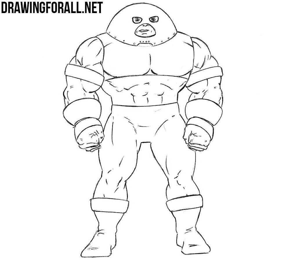how to draw Juggernaut from marvel