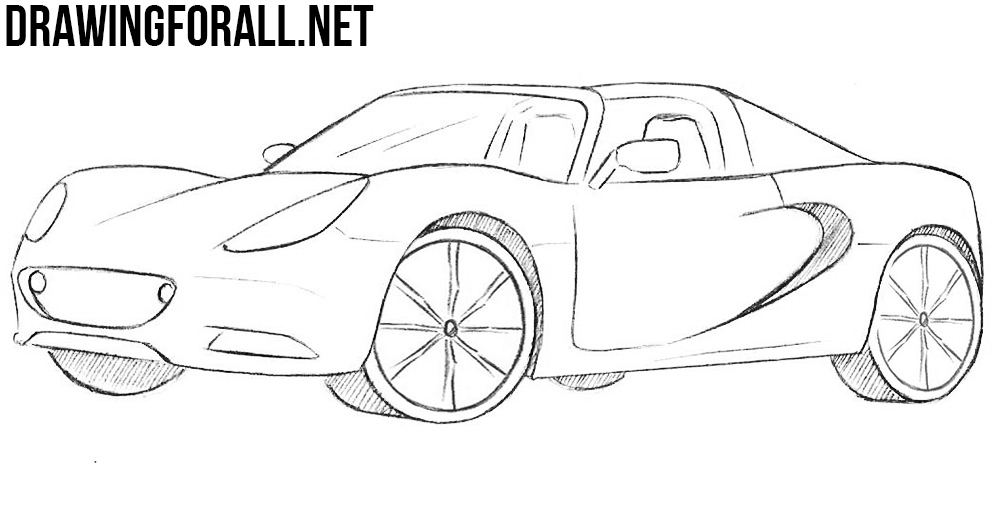 how to draw a How to Draw a Lotus Elise