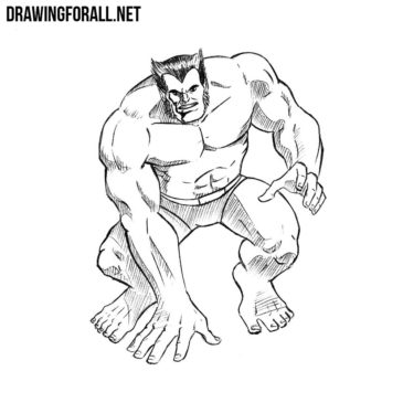 How to Draw Beast from X-Men