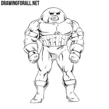 How to Draw Juggernaut