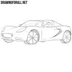 How to Draw a Lotus Elise