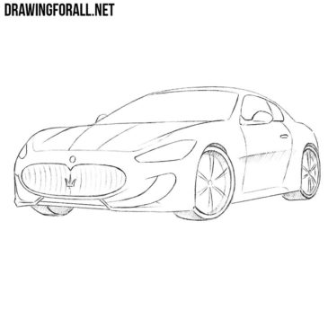 How to Draw a Maserati