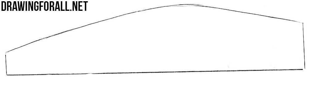 easy to draw sports cars