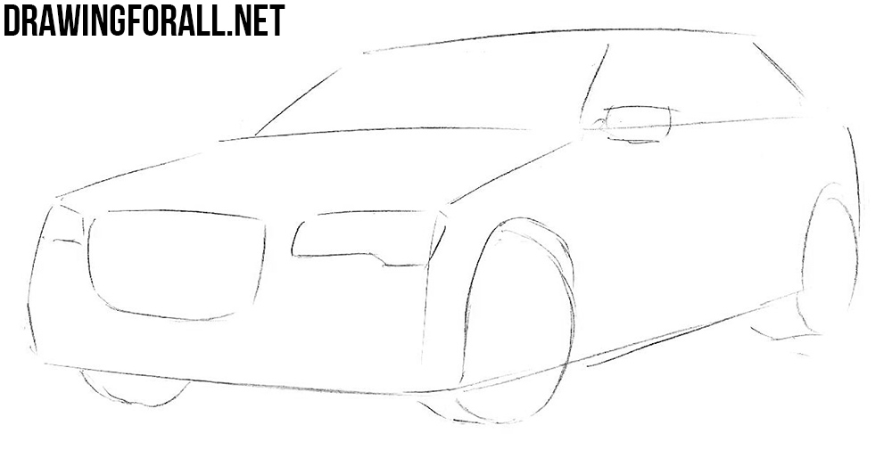 how to draw a Chrysler