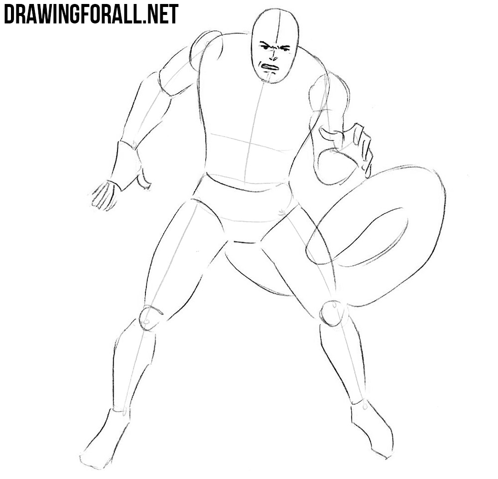 how to draw Scorpion from comics