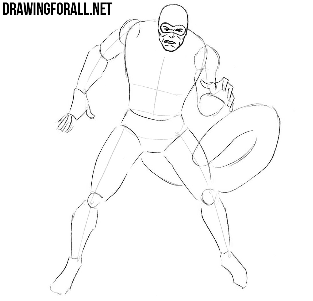 how to draw Scorpion step by step
