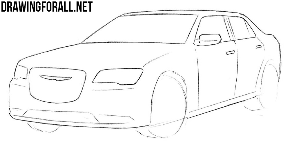 Chrysler 300c drawing tutorial